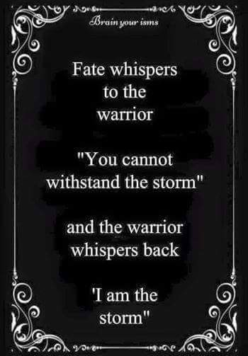 Image result for be the storm
